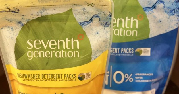 Seventh Generation Unscented Dishwasher Detergent Pods